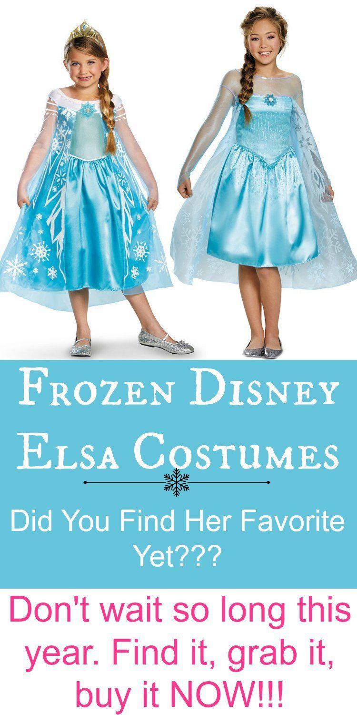 Where Can You Find Frozen Disney Elsa Costumes?   Frozen disney ...