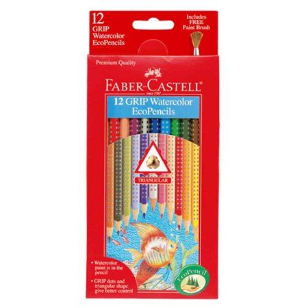 Arts Crafts Sewing Faber Castell Watercolor Pencils Colored