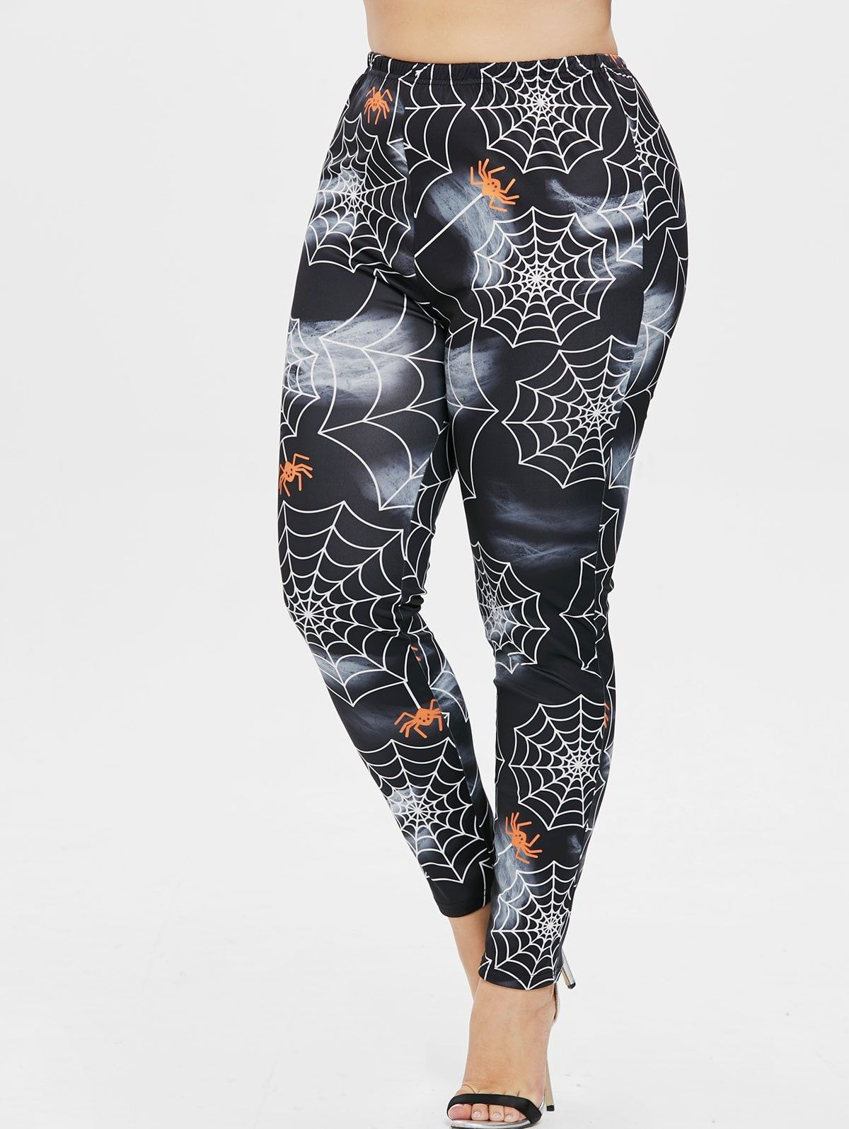 71b02b1340697 Plus Size Halloween Spider Web Leggings #leggings sporty outfit #shoes with  leggings #casual style leggings #female leggings #fall outfits with leggings  ...