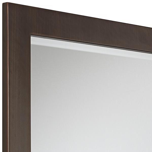 Minka Lavery Paradox Bronze Wall Mirrorx Half Bath Mirror - Minka lavery bathroom mirrors