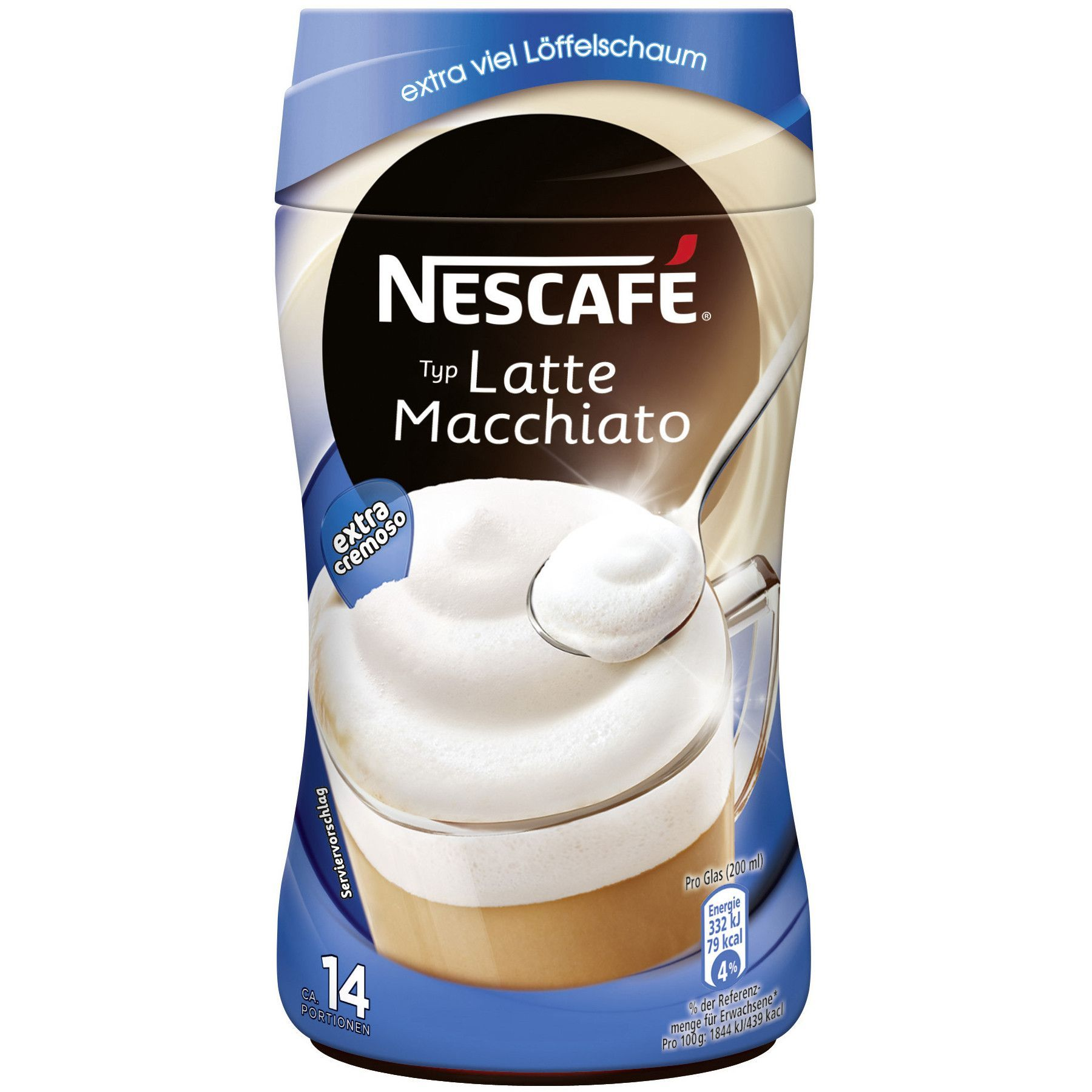 in USA- Nescafe Latte Macchiato EXTRA CREAMY -1 can - 14 portions ...