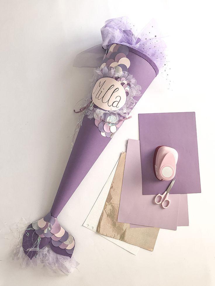 mermaid schult te selber machen zur einschulung. Black Bedroom Furniture Sets. Home Design Ideas