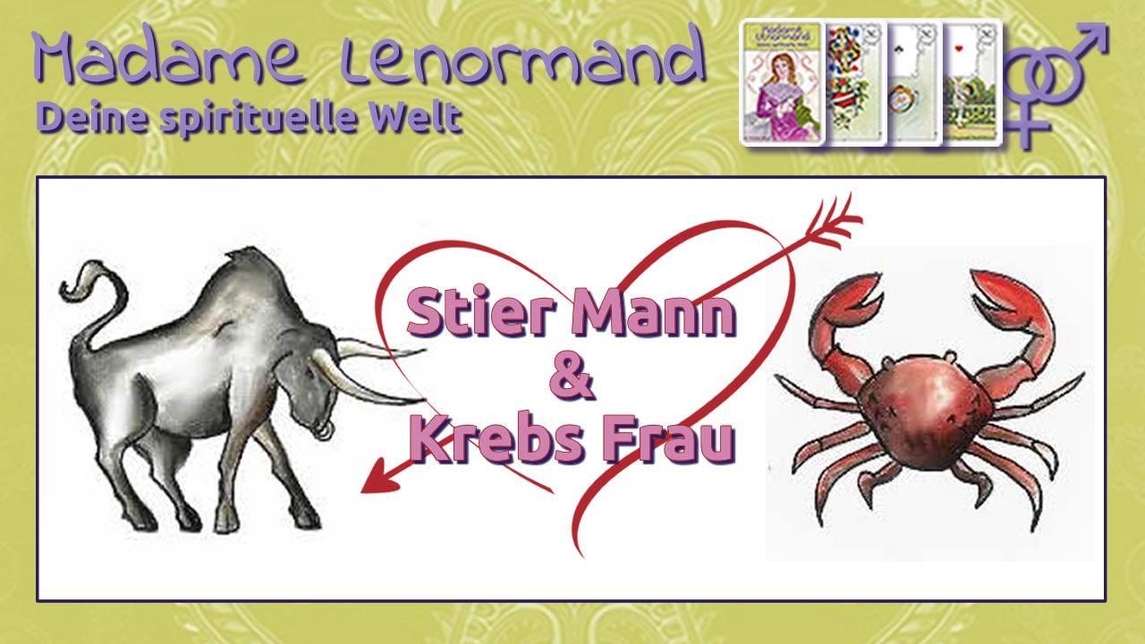 Liebe & Partnerschaft Stier-Mann & Krebs-Frau, er gibt ihr