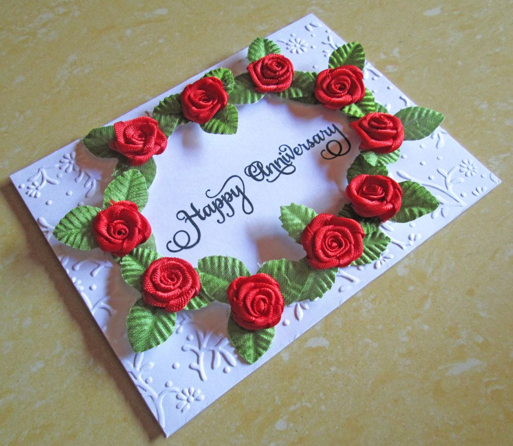 Wedding anniversary card for husband cards to make