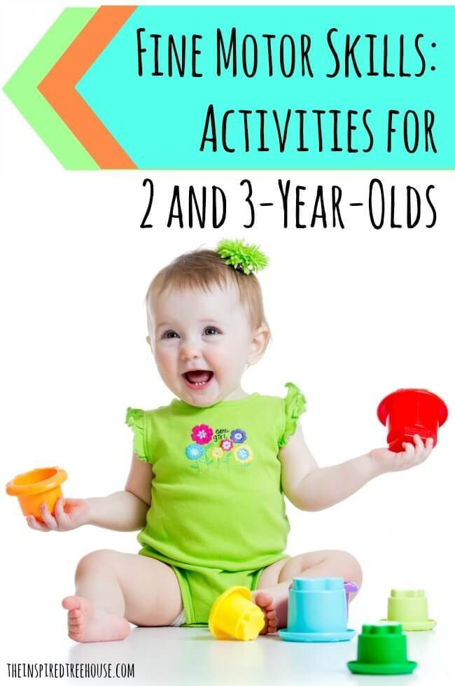 Fine Motor Skills Activities For 2 And 3 Year Olds Ils