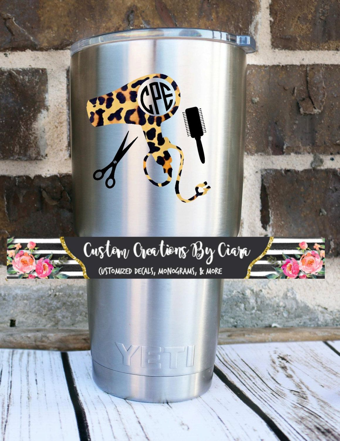 Custom Coffee Quote Vinyl Decal For Yeti Rambler RTIC Ozark - Custom vinyl decals for cups