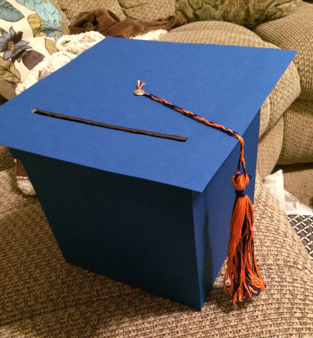 Diy graduation card box with images graduation diy