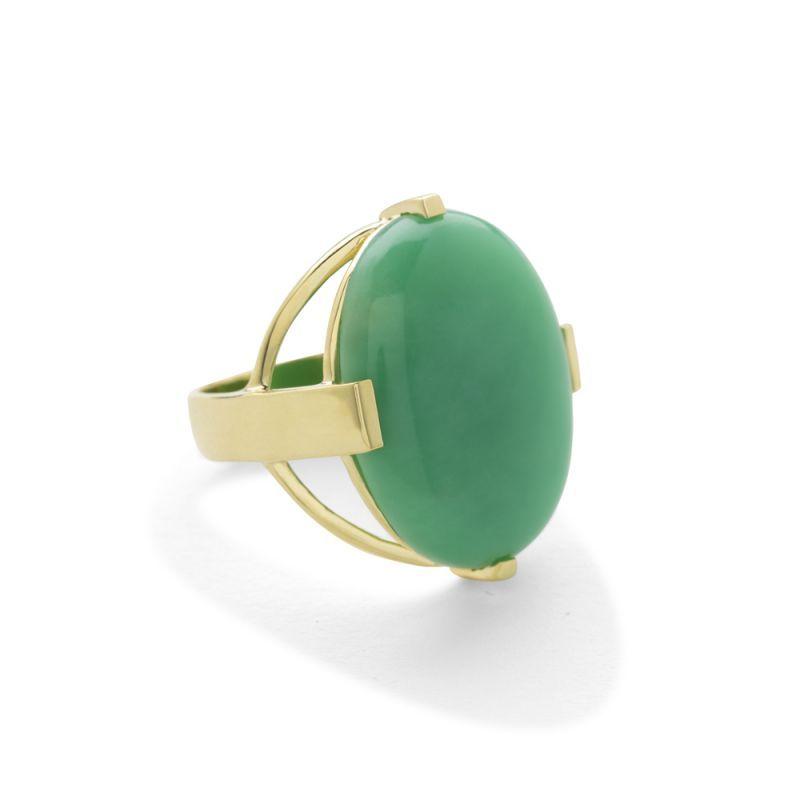 Ippolita 18K Polished Rock Candy Large Turquoise Ring 5asxlyT