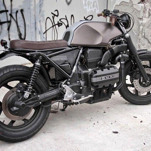 Killer K: Mike Flores BMW K100 Cafe Racer   Bike EXIF