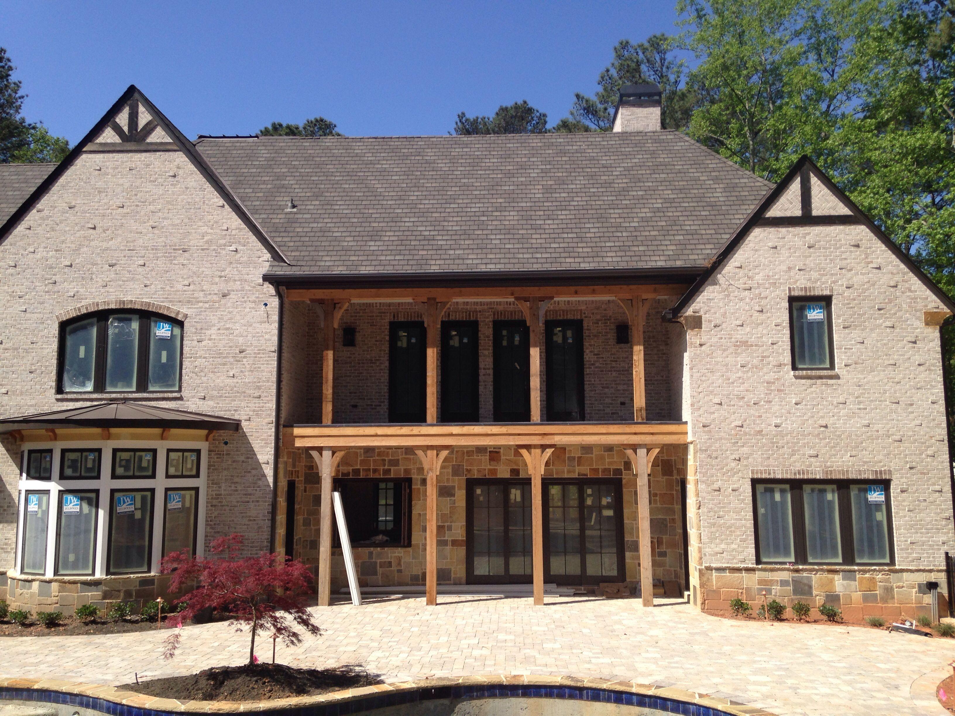 Cottonwood brick dogwood white mortar 2014 hot bricks for Cottonwood house