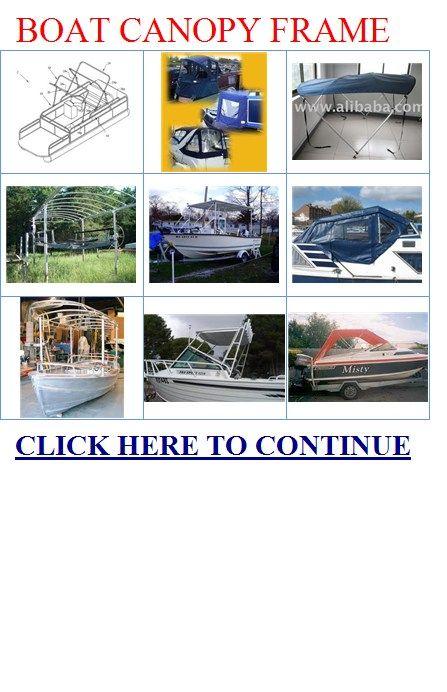 aluminum boat canopy frames | Boating | Pinterest | Boat, Boat ...