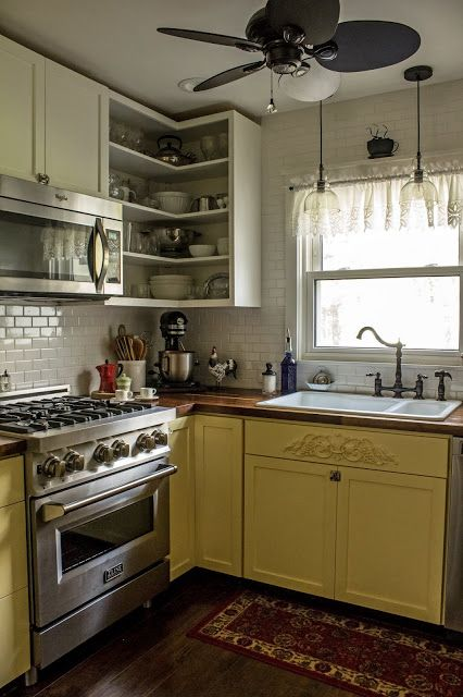 a major upgrade for my yellow kitchen  yellow kitchen