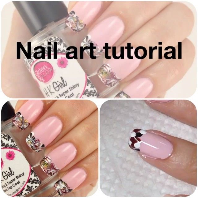Tips For Nail Polish Marbling Hession Hairdressing
