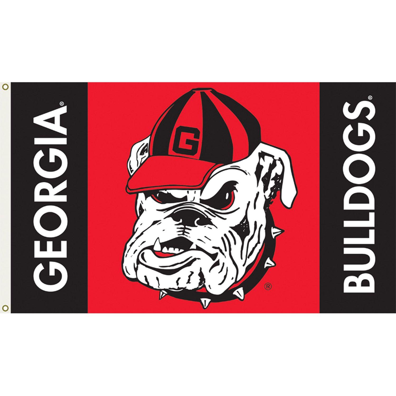 Bulldogs 3ft x 5ft Team Flag Logo Design 2