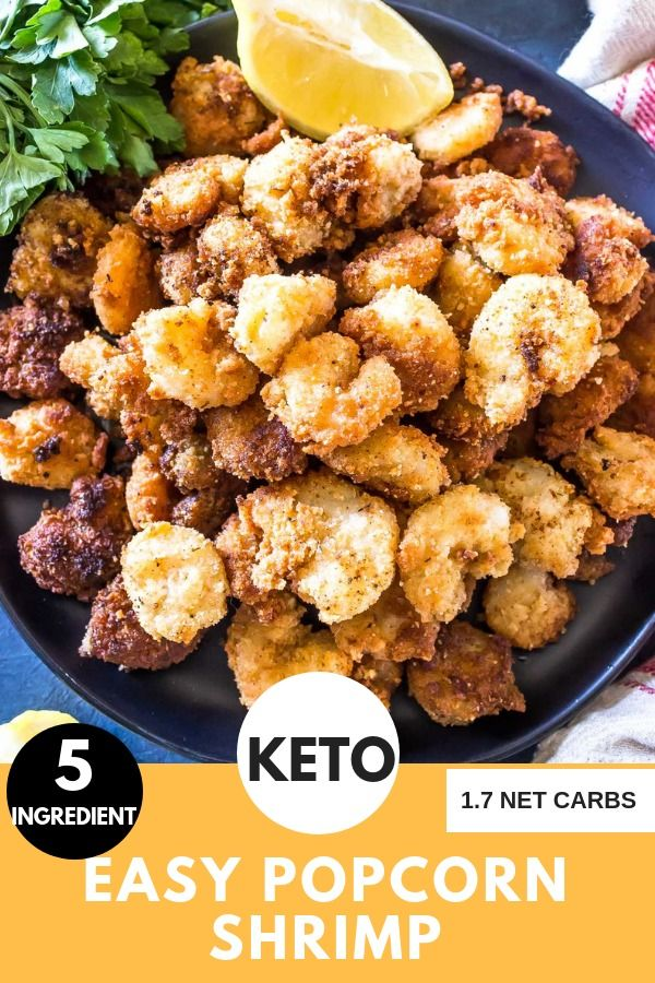 Photo of Keto Popcorn Shrimp