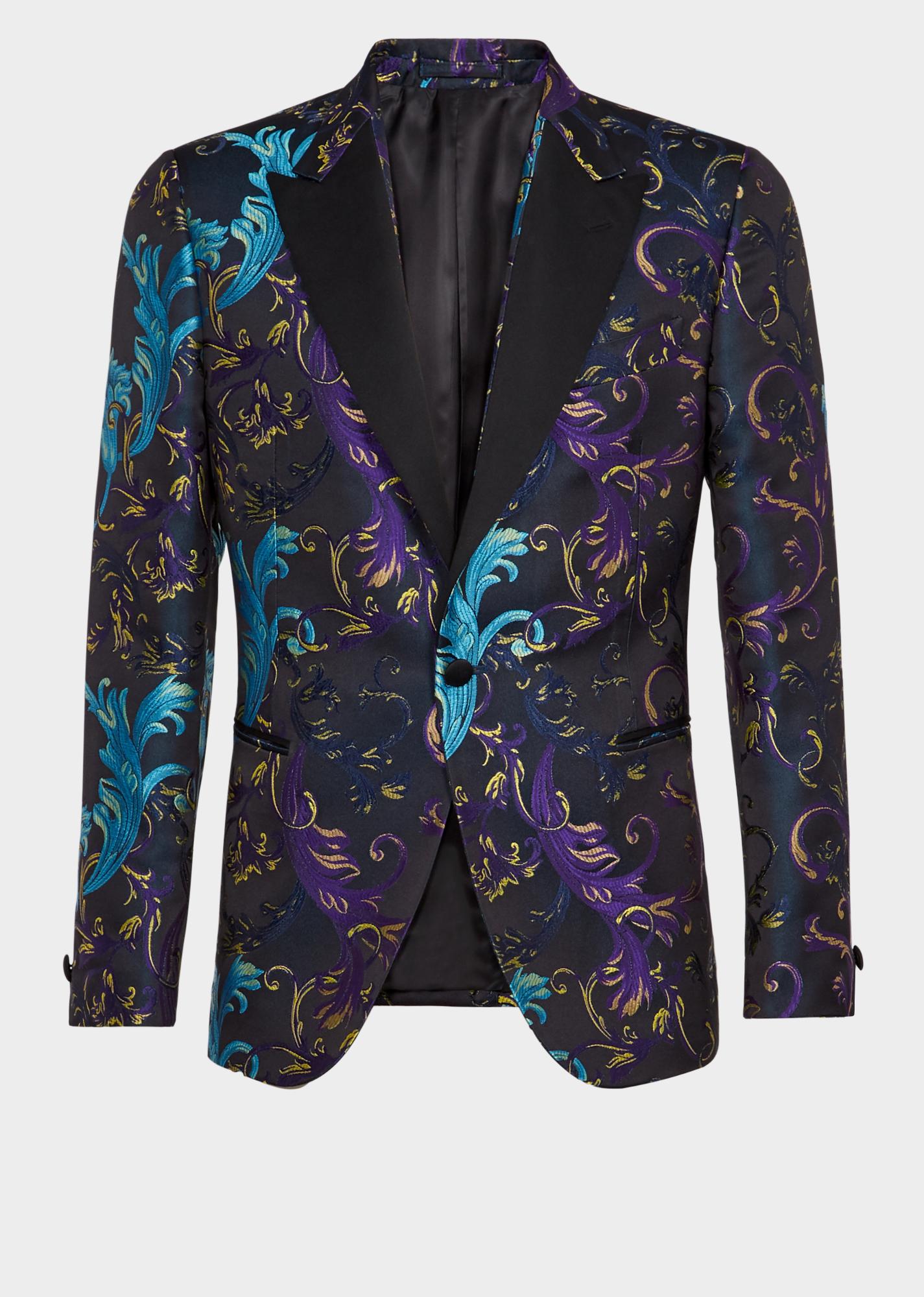 f26656968 Versace Acid Baroque Blazer jacket | Jacket vibes in 2019 | Blazers ...