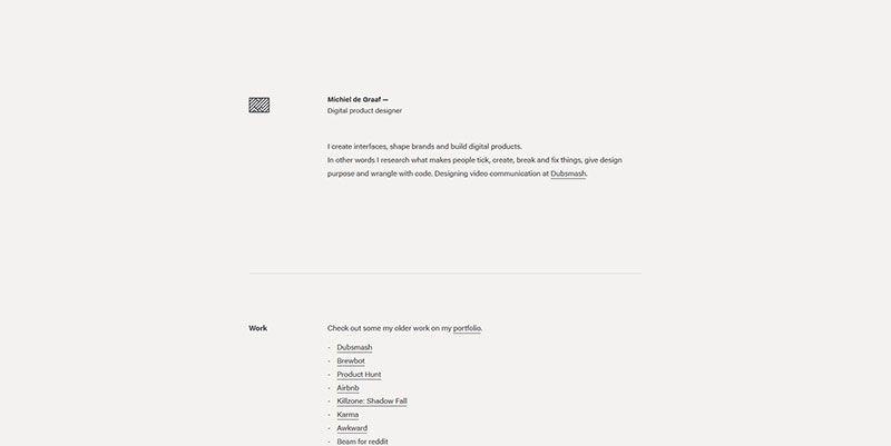 20 Beautiful Examples Of Ultra Minimalism In Web Design In 2020 Web Design Minimal Web Design Design