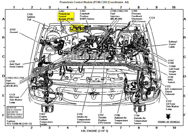 1999 ford 4.0 engine diagram 1999 ford 4 0l engine diagram wiring diagram schematics  1999 ford 4 0l engine diagram wiring
