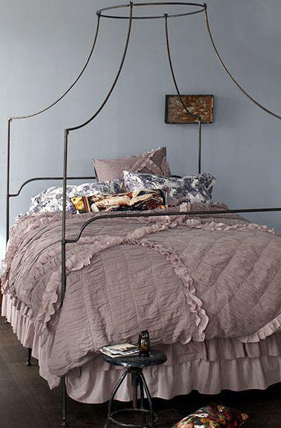 Smokey Blue Bedroom: Pin By Jennifer Fields On Home + Garden