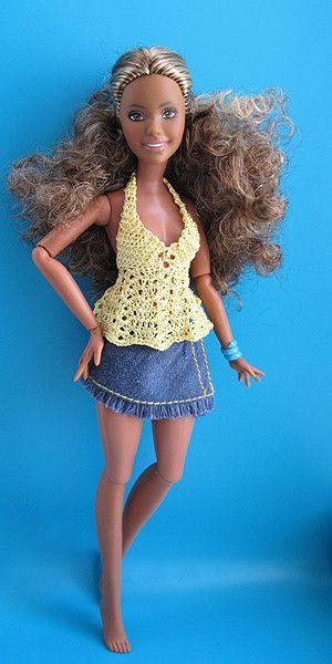 Pin de Лариса en для кукол | Pinterest | Vestido de Barbie, Barbie y ...