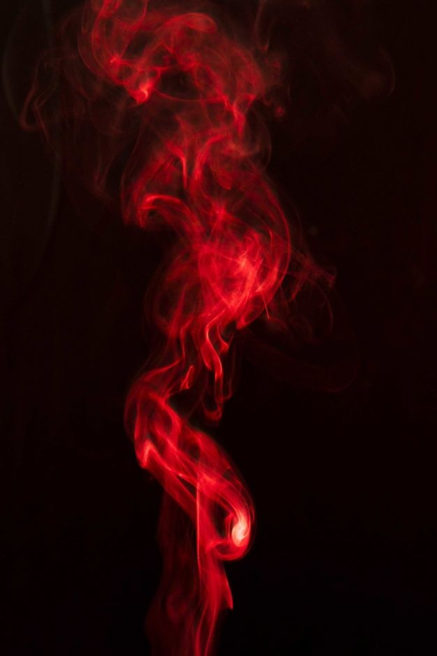 Red Smoke Swirling Against Black Background Red Aesthetic Red And Black Wallpaper Red Aesthetic Grunge