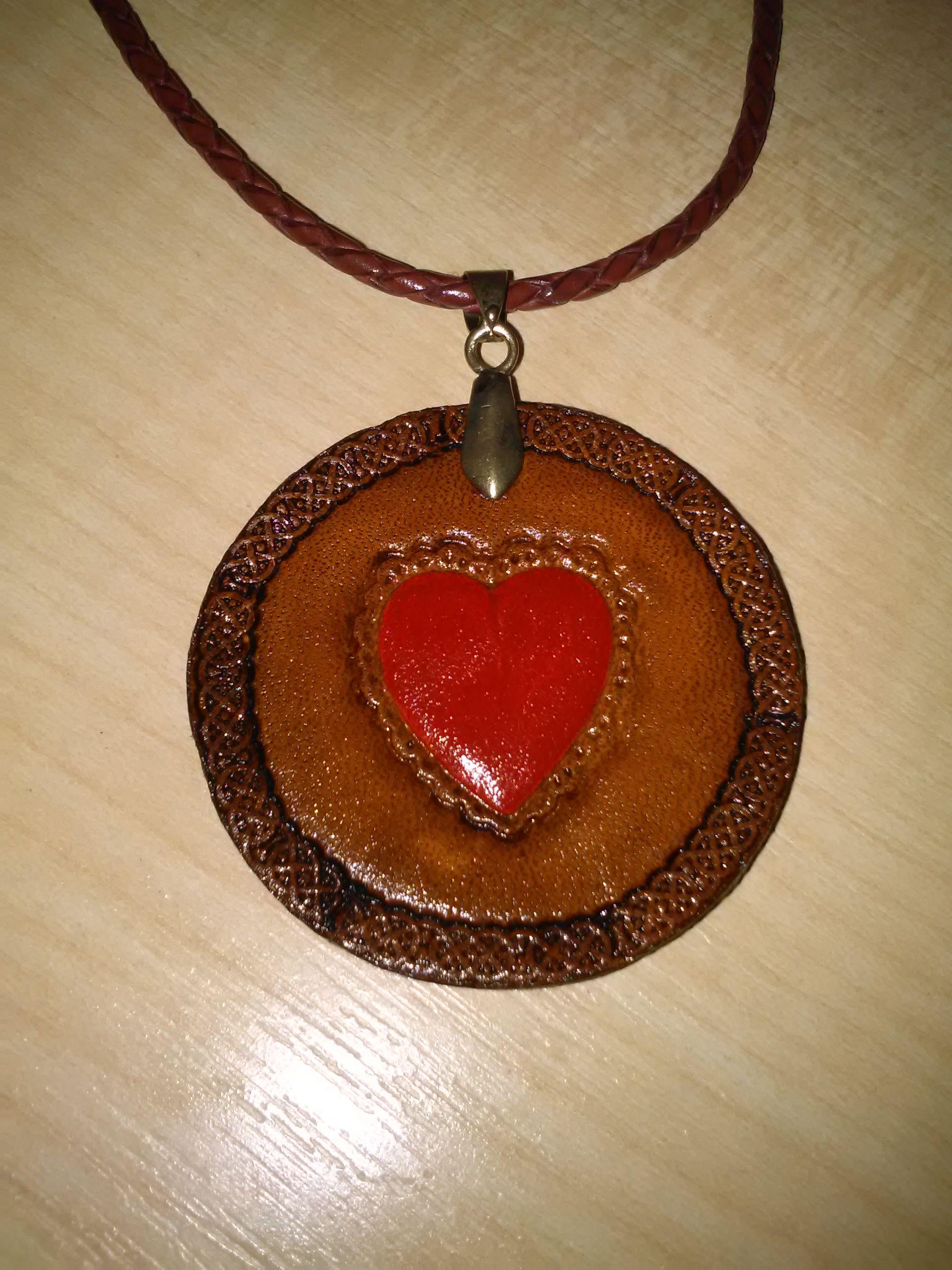 Prívesok  náhrdelník  srdiečko  62415a41ab3