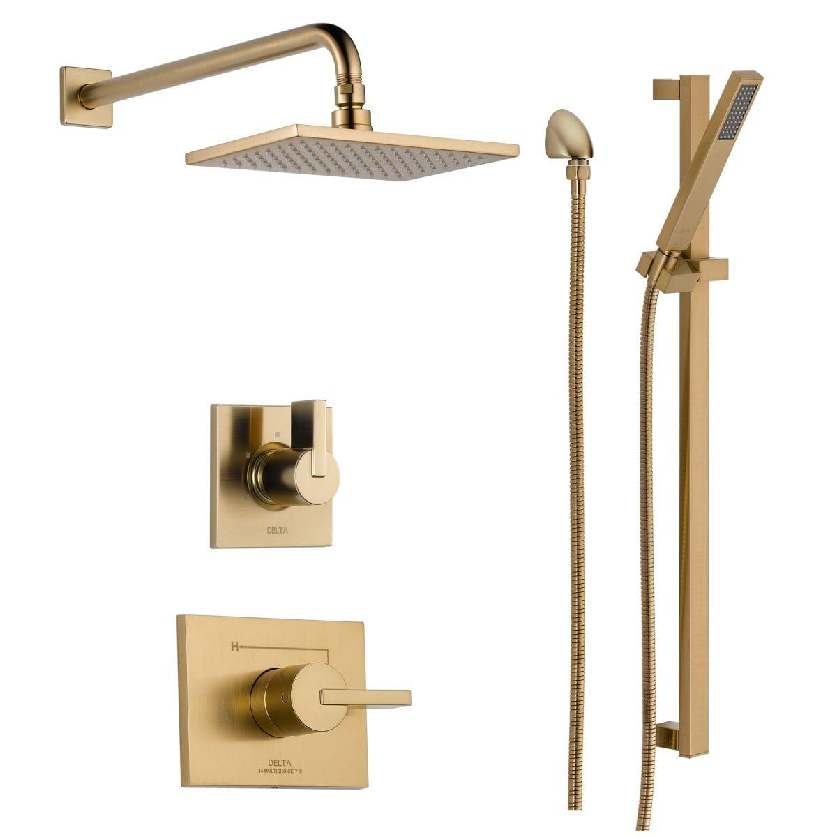 Delta Dss Vero 1401 Shower Systems Shower Heads Brass Bathroom