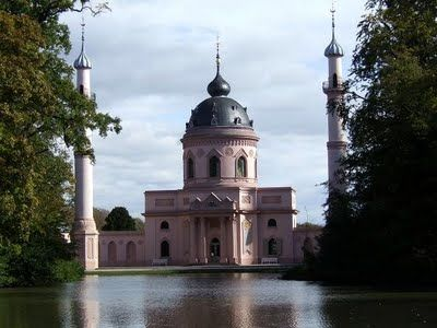 Schwetzingen Castle and Gardens in German State of Baden-Wurttemberg.