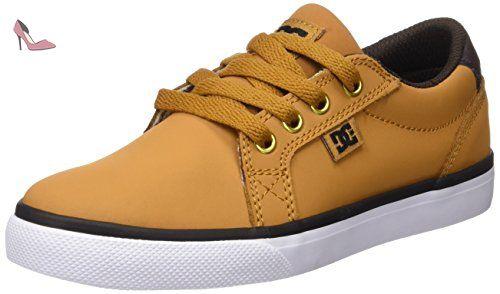DC Shoes Council Mid TX, Baskets Mode Homme - Beige (Wheat), 40 EU