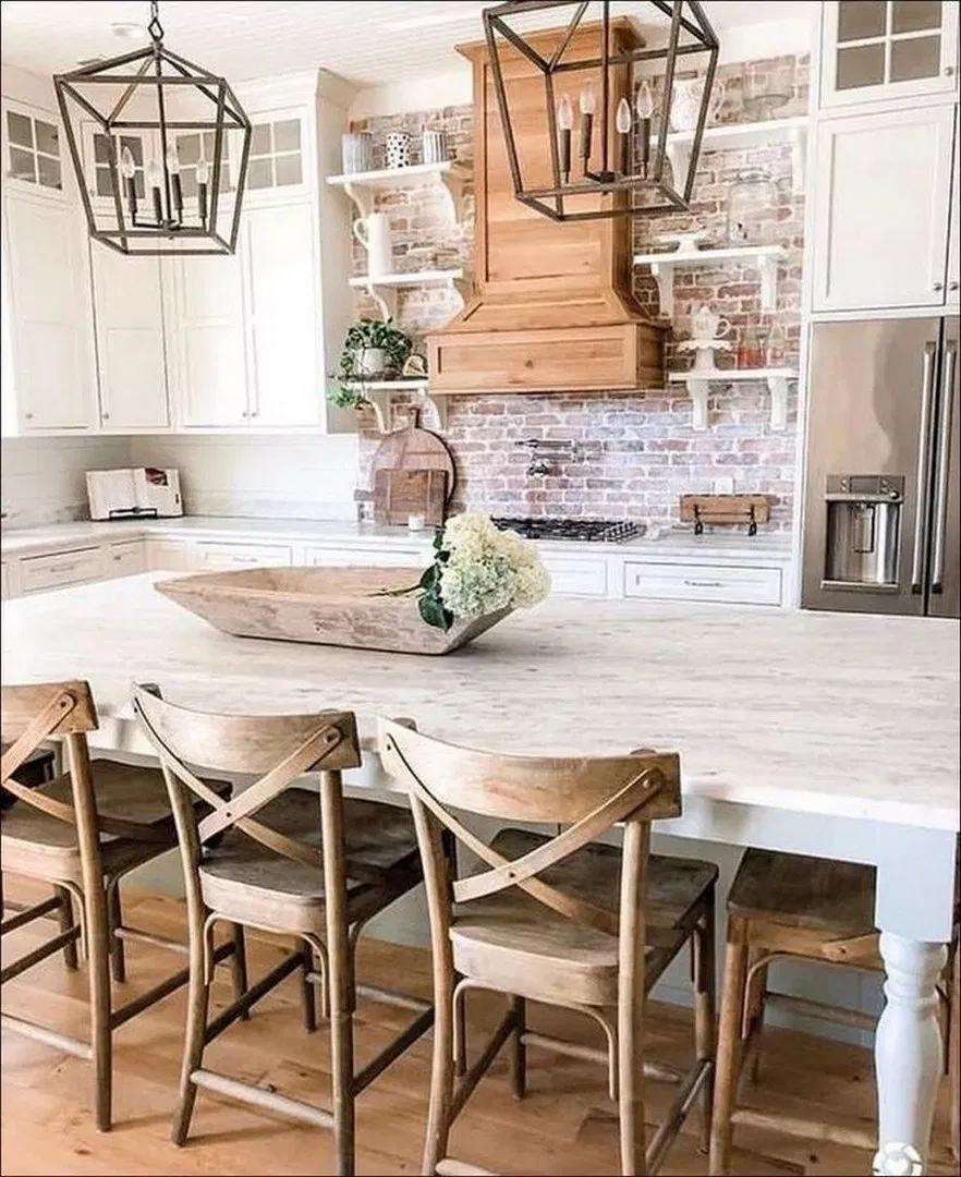 70+ wonderful farmhouse style dining room design ideas page