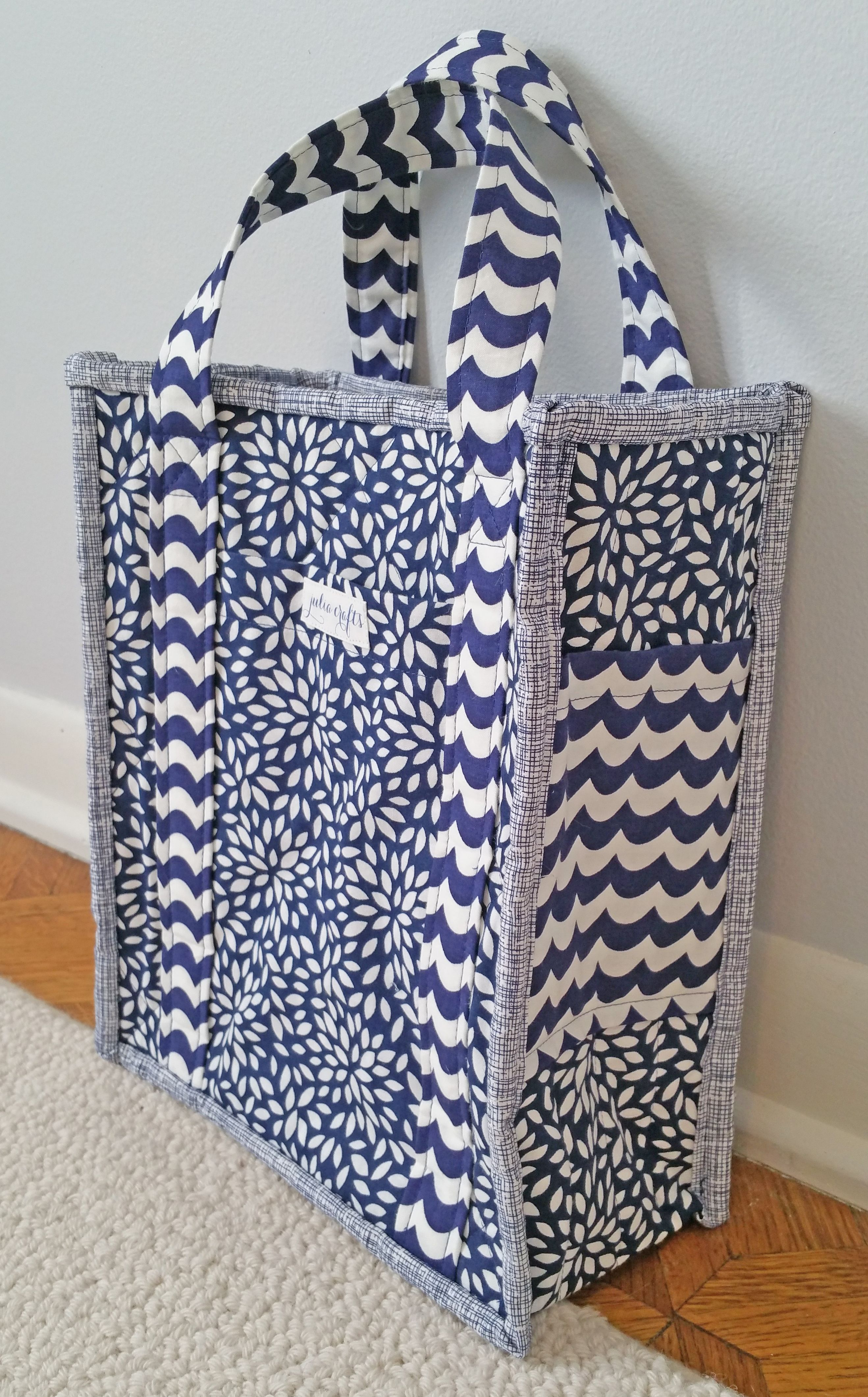 33e4a3c6b3 Reversible Quilted Tote Bag