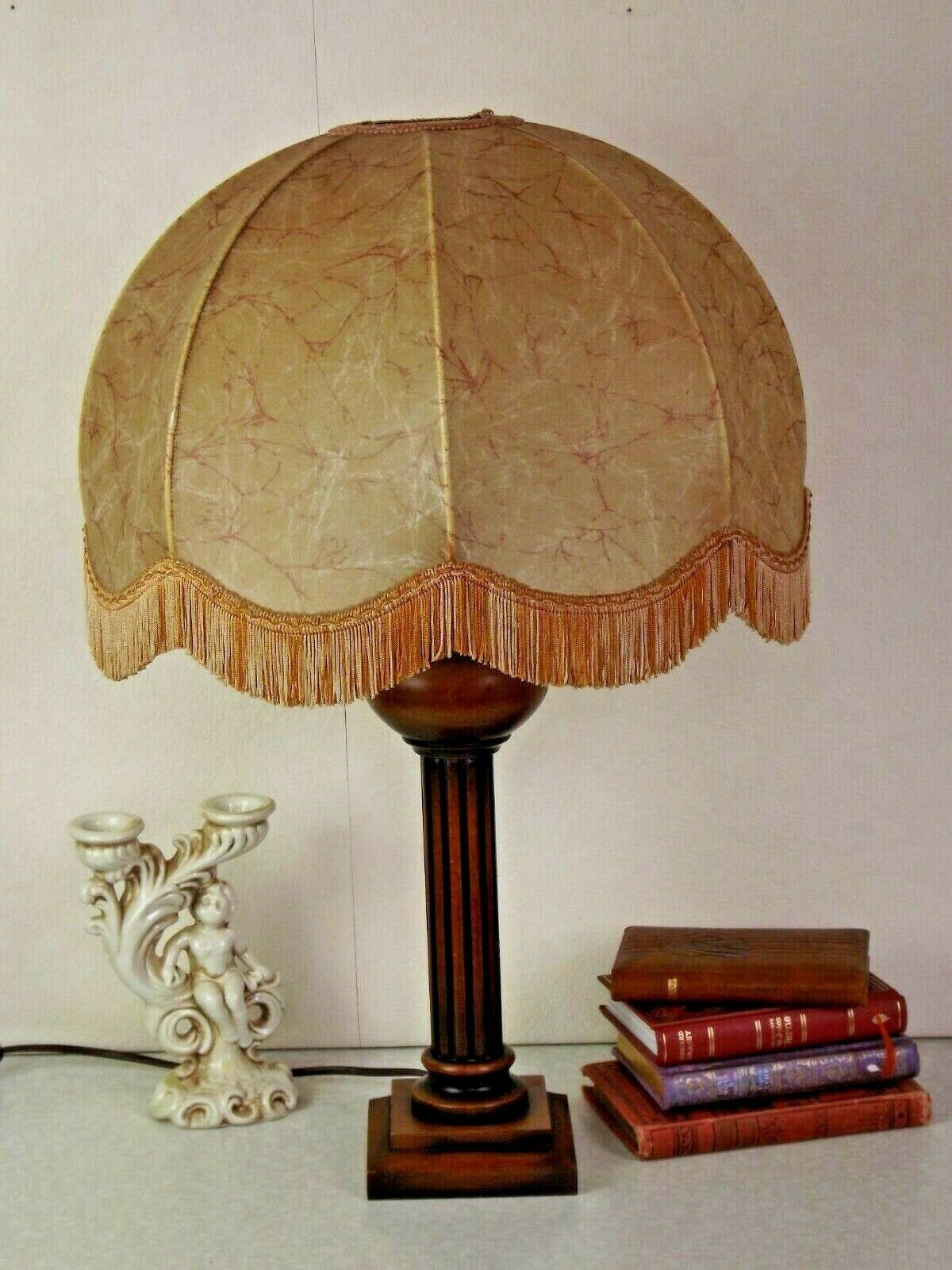 Wooden Table Lamps Vintage Lamp