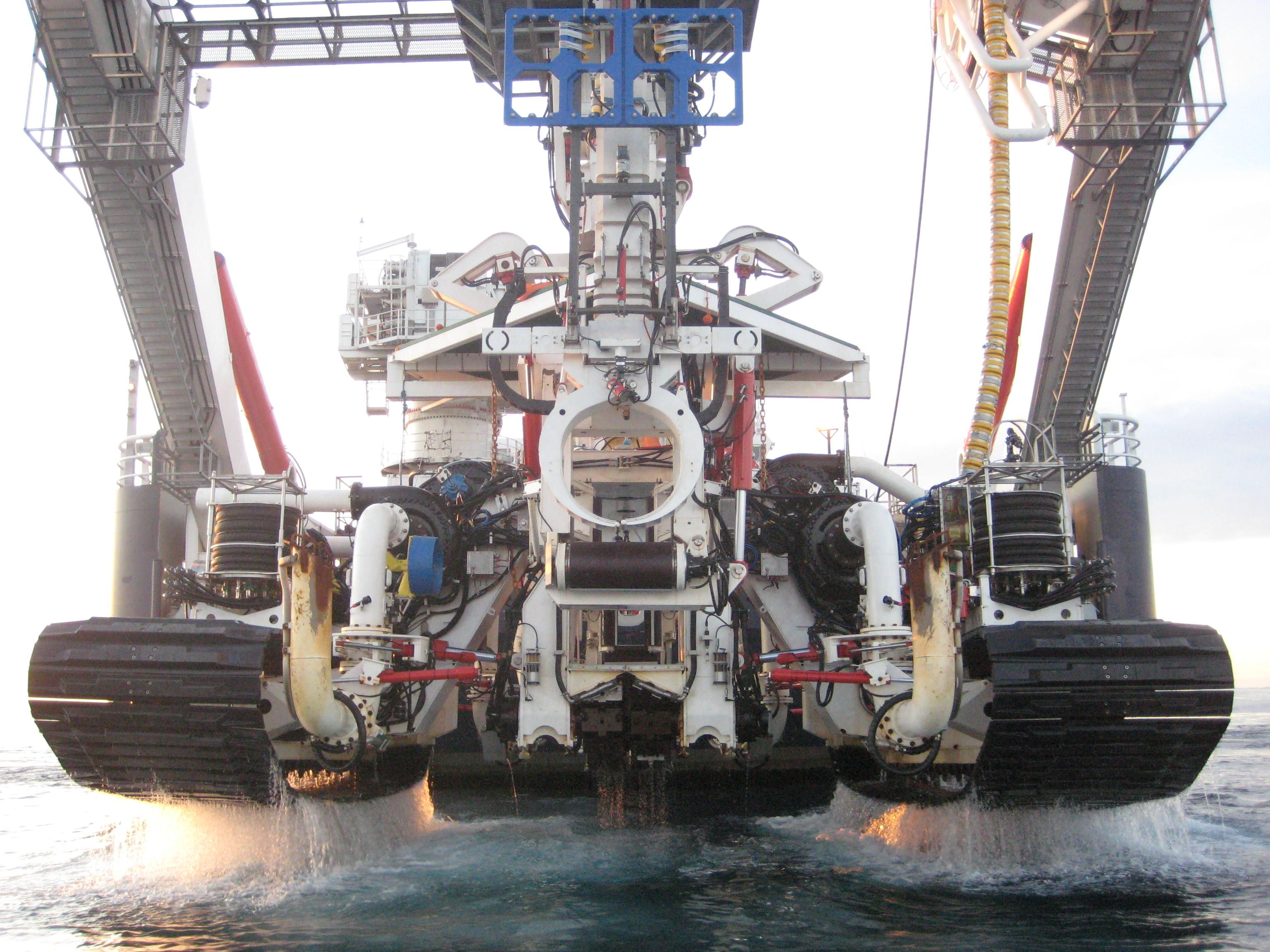Helix Subsea Remotely Operated Cable Trencher Vehicles