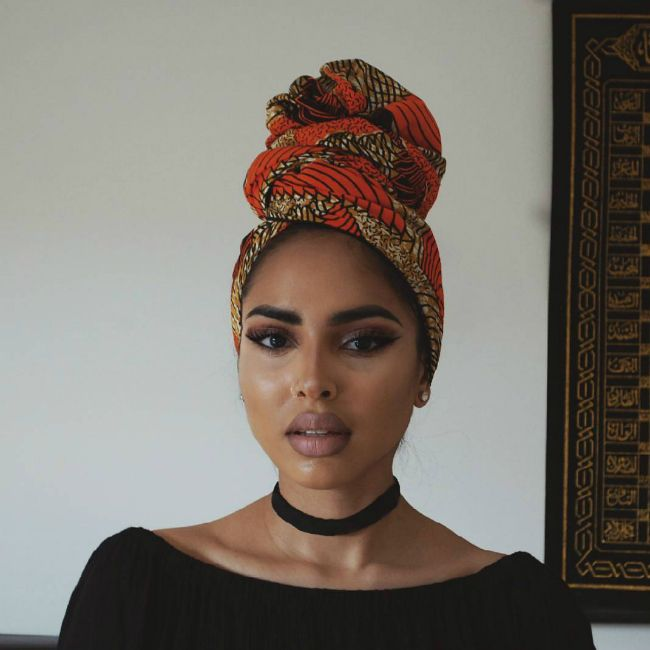 7 falieshagomezz 650. 25 Head wraps to try!
