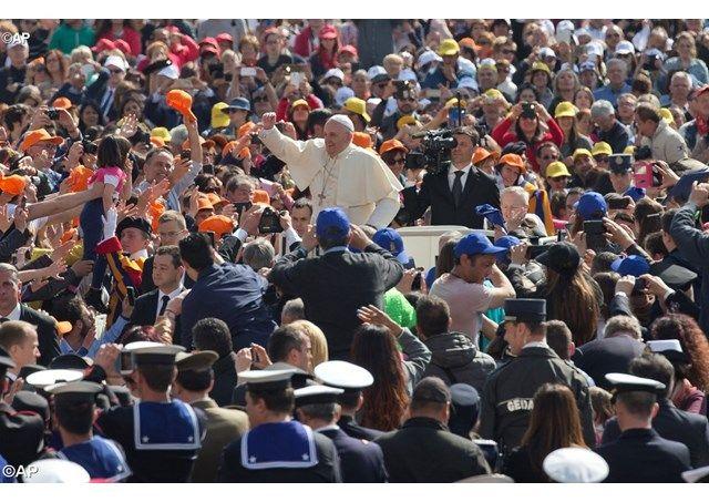 """Audiencia Jubilar: """"el pecado nos aleja del amor de Dios"""" - Radio Vaticano"""