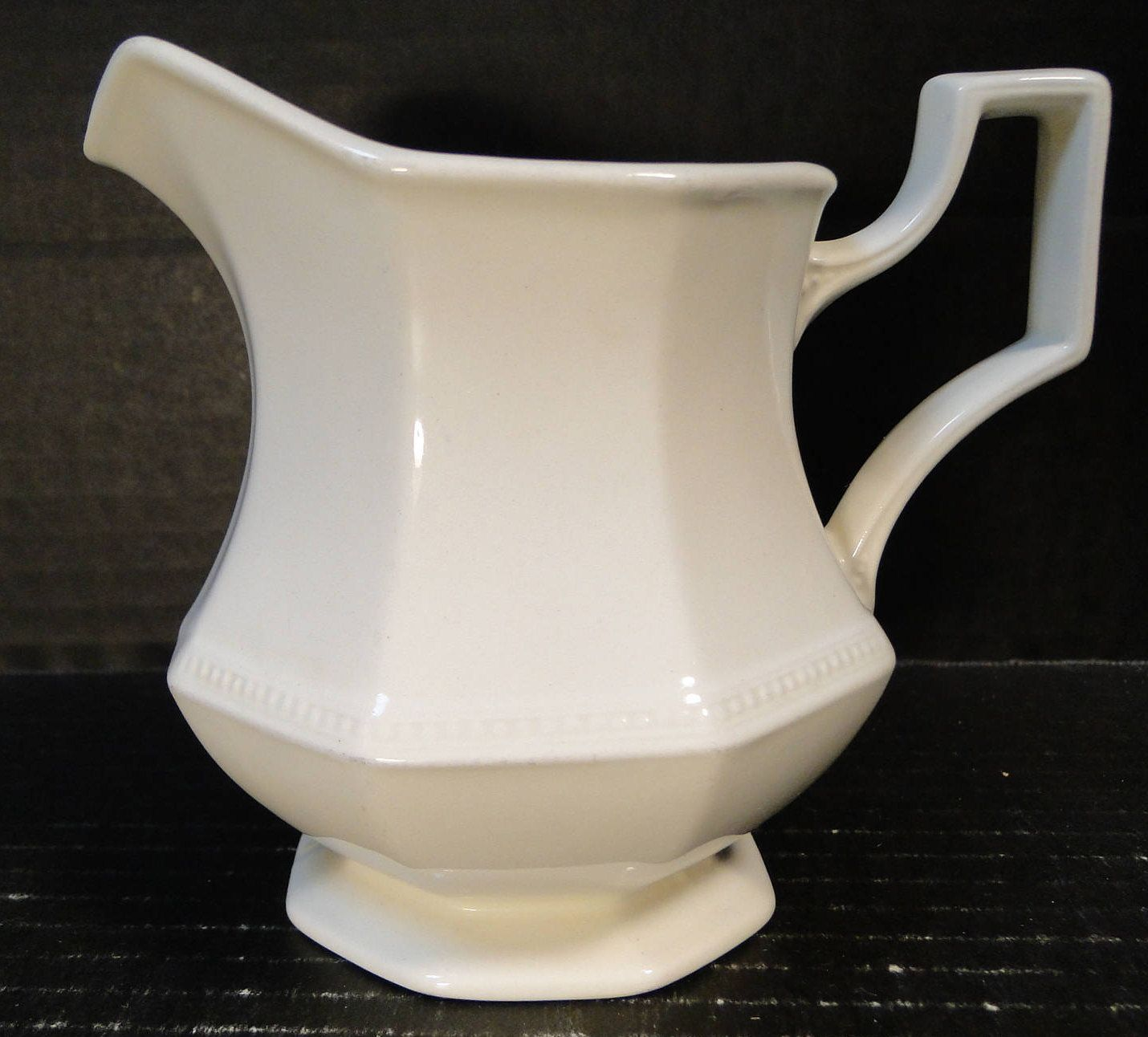 Johnson Brothers Heritage White Creamer England EXCELLENT ...
