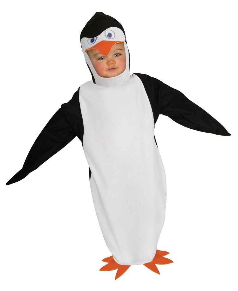 the penguins of madagascar skipper infant bunting costume - Infant Penguin Halloween Costume