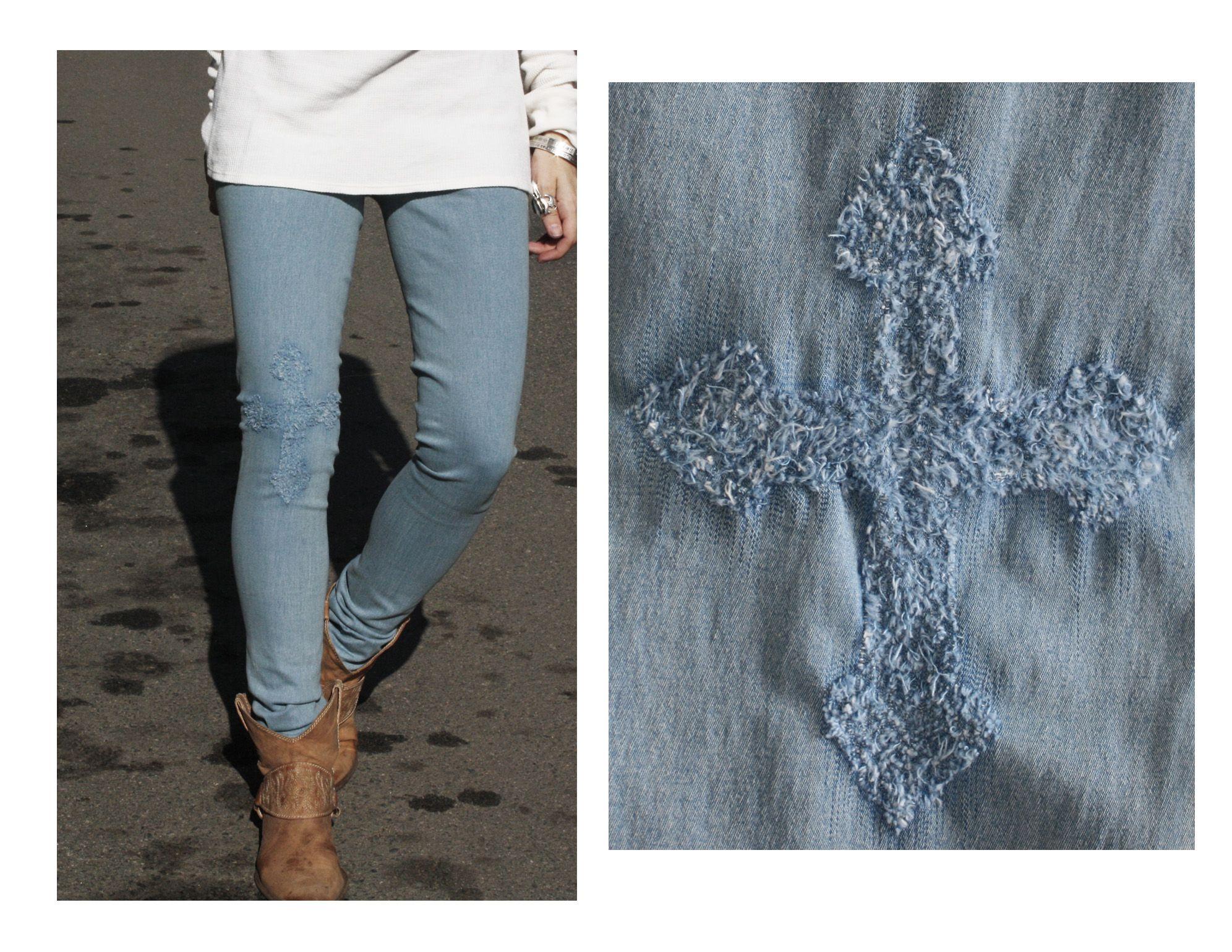 состав рисунок из ниток на джинсах это главное место