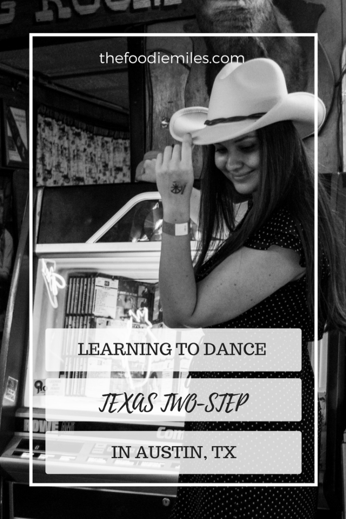 Learning to dance Texas two-step in one of the oldest and most famous honky tonk clubs - Broken Spoke in Austin, TX!