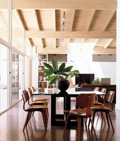 Simple Mid Century Modern Dining Rooms Find This Pin And More On Midcentury R Design Ideas