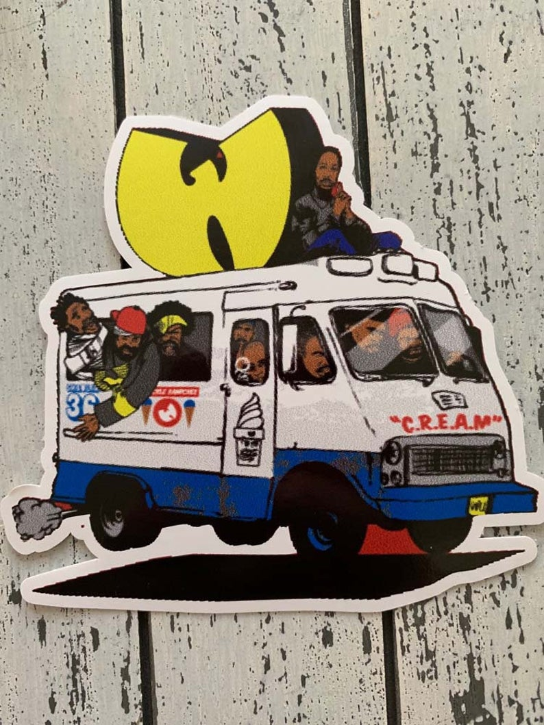 2 Of The Wu Tang Ice Cream Truck Vinyl Decals Stickers Combo Etsy Vinyl Decals Ice Cream Truck Vinyl Decal Stickers [ 1059 x 794 Pixel ]
