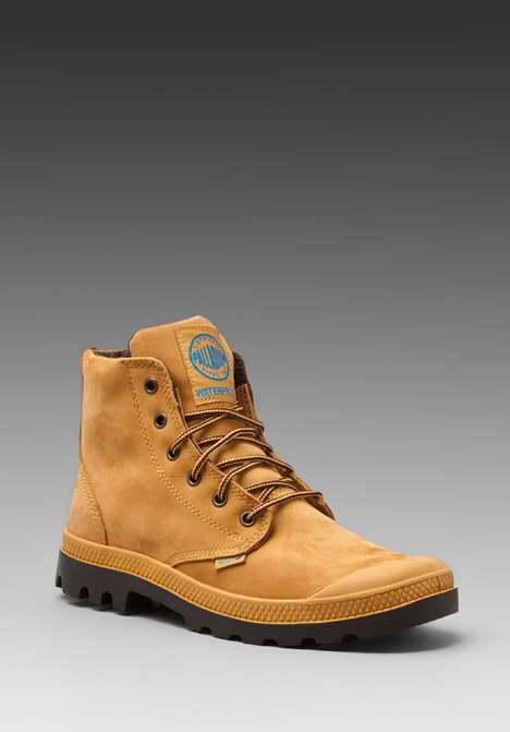 Love the Palladium Waterproof Pampa Hi on Wantering | $77 | sale price | Boxing Week for Him | mens waterproof boots | menswear | mens shoes | mens fashion | mens style | wantering http://www.wantering.com/mens-clothing-item/waterproof-pampa-hi/adZuZ/