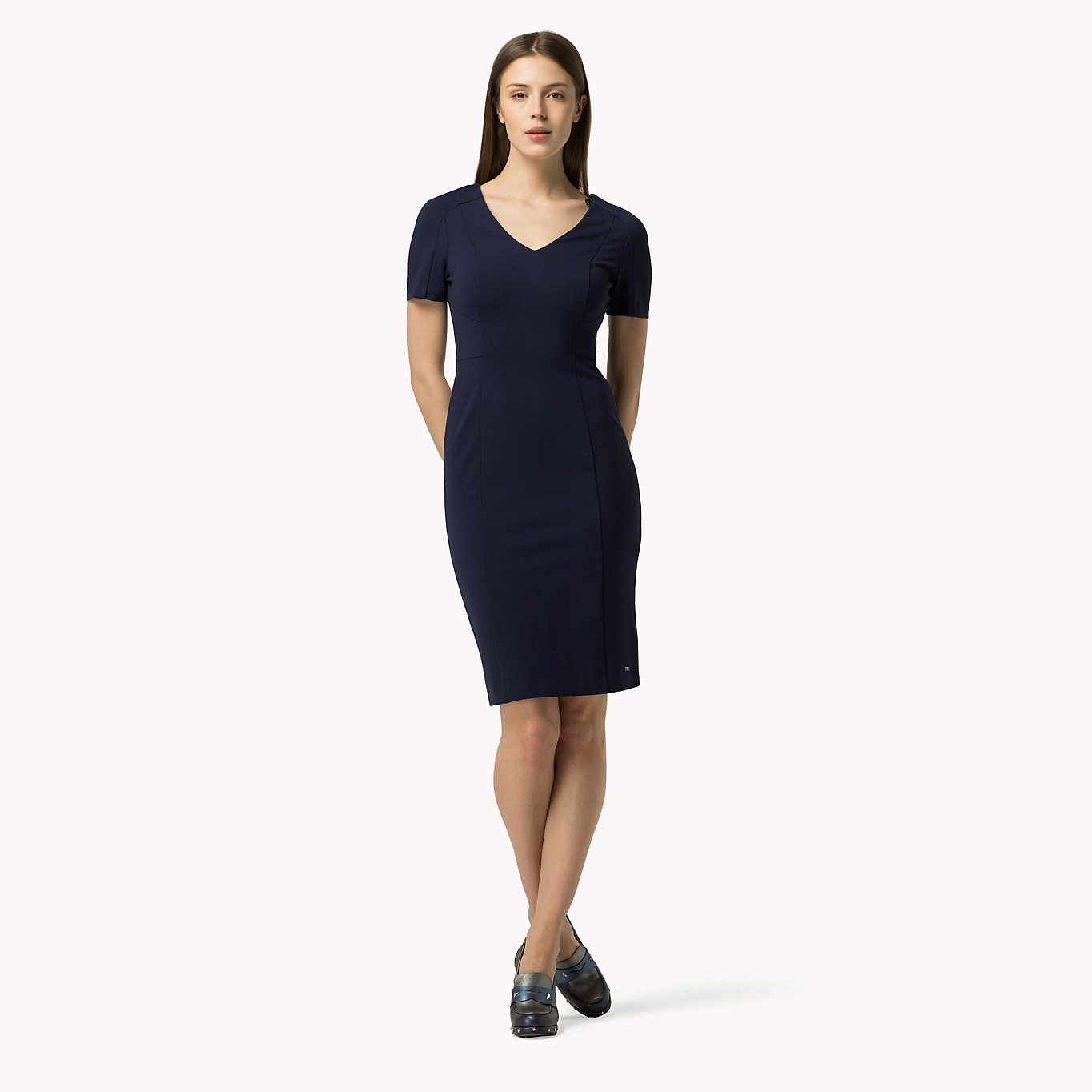 Image for Fitted Punto Milano Dress from TommySK  d3114979435