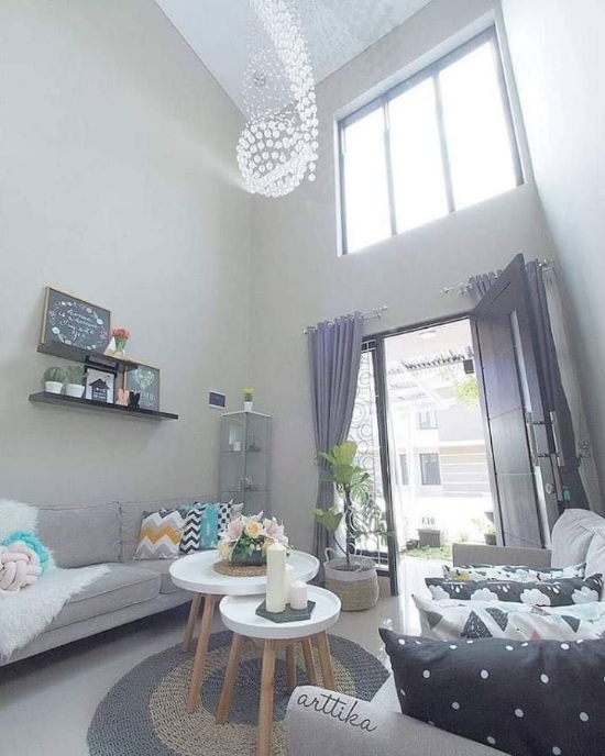 Inspirasi desain interior rumah minimalis type 70 1 lantai