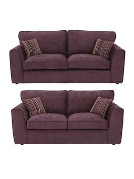 Brodie Fabric 3 Seater Sofa Plus Sofa Bed Buy And Save Very Co