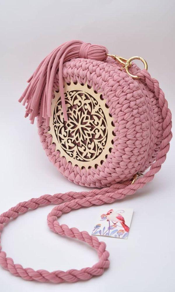 48 ideas creativas de patrones de bolsas de ganchillo gratis para este año, parte 43