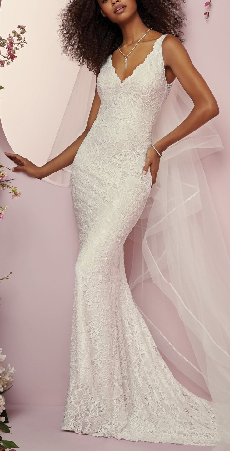 Tina by rebecca ingram wedding dresses mermaid sheath and fitted