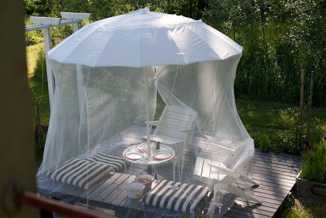 Nerokas hyttyssuoja! Kuva: Vihreä talo