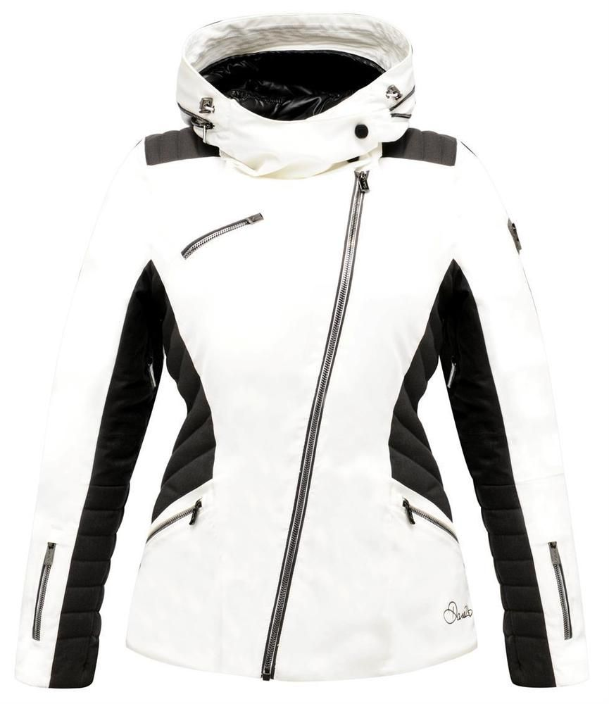 7771646e0b Dare2b Shade Out Womens Ski Jacket Black Label Premium AEP Kinematics ARED  20000 Size 20