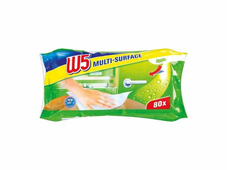 W5 Apple Antibacterial Multi Action Wipes From Our Everyday